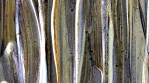 Savon artisanal marron glacé et chocolat, texture du savon